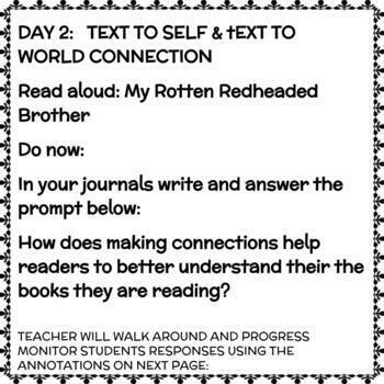 Active Reader Strategy 2: Making  Connections