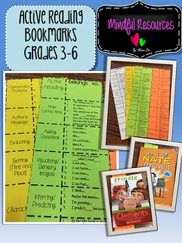 Active Readers' Bookmark!