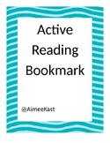 Active Reading Bookmark