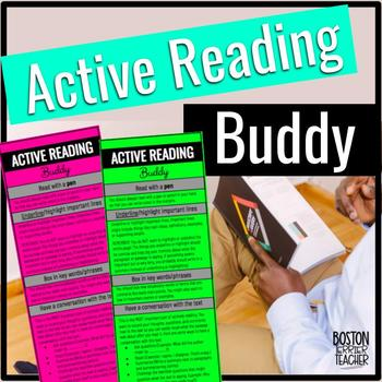 Active Reading Buddy for Secondary