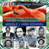 Case Study OJ and The Seven S's of Crime Scene Investigati