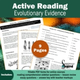 Active Reading: Evolutionary Evidence - Textbook Series (C