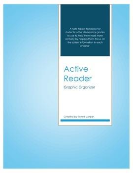 Active Reading Graphic Organizer