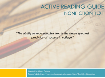 Active Reading Guide