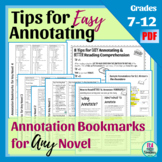 Tips for Teaching Annotating: Includes Annotation Guides f