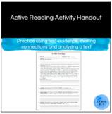 Active Reading Handout