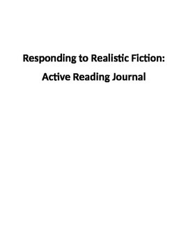 Active Reading Journal: Level Two