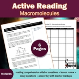 Active Reading: Macromolecules - Textbook Series (Ch1) w/