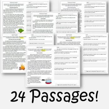 Active Reading Passages BUNDLE