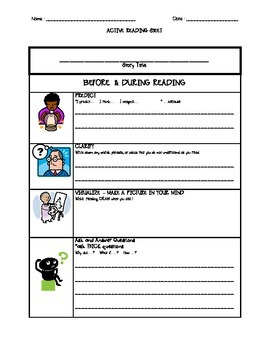 Active Reading Sheet