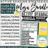 Active Reading Strategies MEGA BUNDLE/ Reading Skills Anchor Charts & Activities