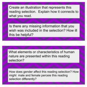 Asking Questions: Reading strategy