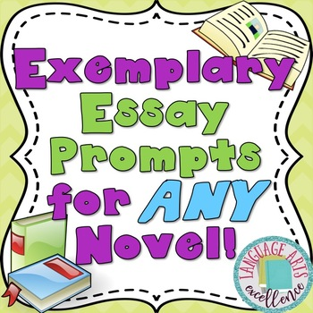 Differentiated Essay Prompts for ANY Novel!