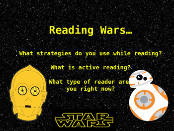 Active Reading Strategies Powerpoint/Preparing for rigor and common Core