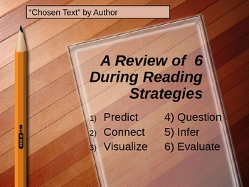 Active Reading Strategies - Read Aloud Powerpoint