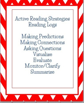 Active Reading Strategies Homework Reading Logs in English and Spanish