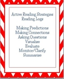 Active Reading Strategies Homework Reading Log Recording Sheets, English Spanish