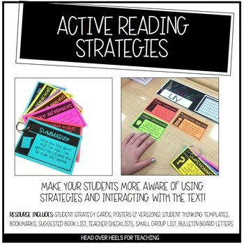 Active Reading Strategies: Teaching Your Students to Interact & Engage With Text