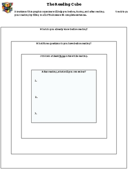 Active Reading Strategies: The Reading Cube