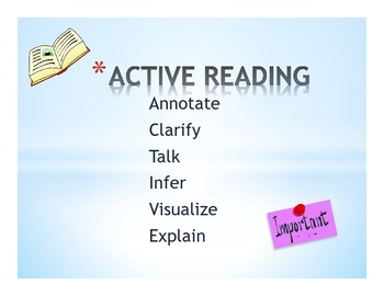 Active Reading Student Handout