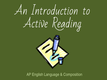 Active Reading Techniques & Modes of Discourse (Introductory Presentation)