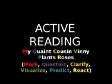 Active Reading/Text Marking Workshop + Tell Tale Heart