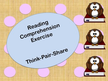 Active Reading Think-Pair-Share
