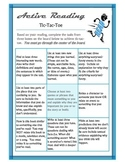 Active Reading Tic-Tac-Toe