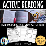Active Reading with Post-It Notes