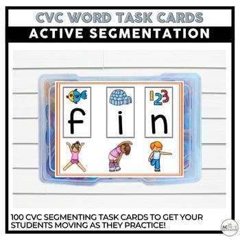 Active Segmentation and Blending Task Cards!