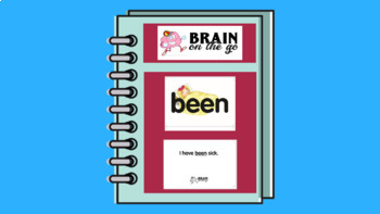 Active Sight Word Flash Cards