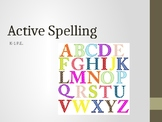 Active Spelling for Grades K and 1