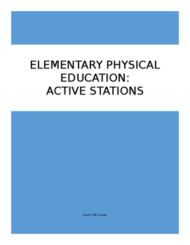 Active Stations for Elementary Physical Education