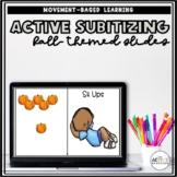Active Subitizing Slides (Fall-themed)