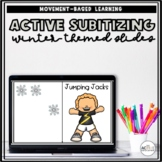 Active Subitizing Slides (Winter-themed)