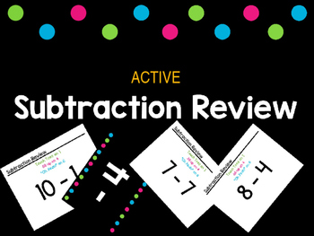 Active Subtraction Facts