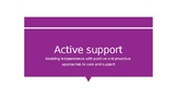 Active Support_Workshop/Presentation & Learning Resource: