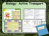 AP Biology:  Active Transport in Cells Lesson