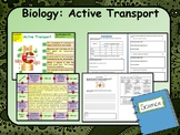 AP Biology:  Active Transport in Cells Lesson