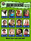 Active Verbs - Poster and Printable