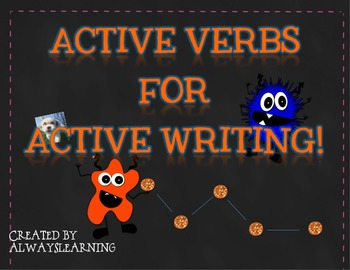 Active Verbs for Active Writing!