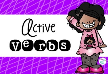 Active Verbs- get the kids moving! {year2tastic}