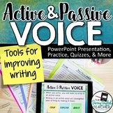 Active Voice and Passive Voice Mini Unit: PowerPoint, Work