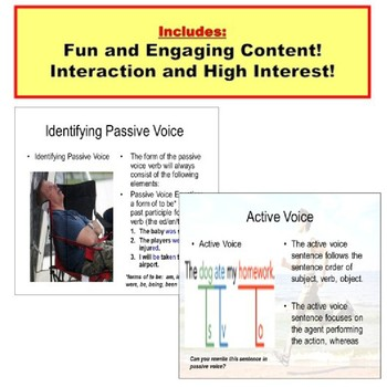 Active Voice and Passive Voice: PowerPoint Lesson