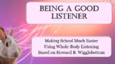Howard B Wigglebottom Active Whole Body Listening No Prep SEL LESSON PBIS MTSS