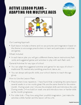 Active Young Learners Lesson Plan Guide