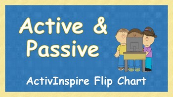 Active and Passive Voice Flip Chart
