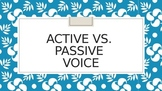 Active and Passive Voice and Changing Passive to Active Voice