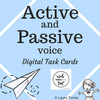 Active and Passive Voice - Boom Cards