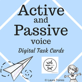 Active and Passive Voice Boom Cards - Distance Learning